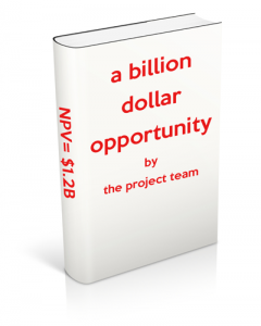 a billion dollar project